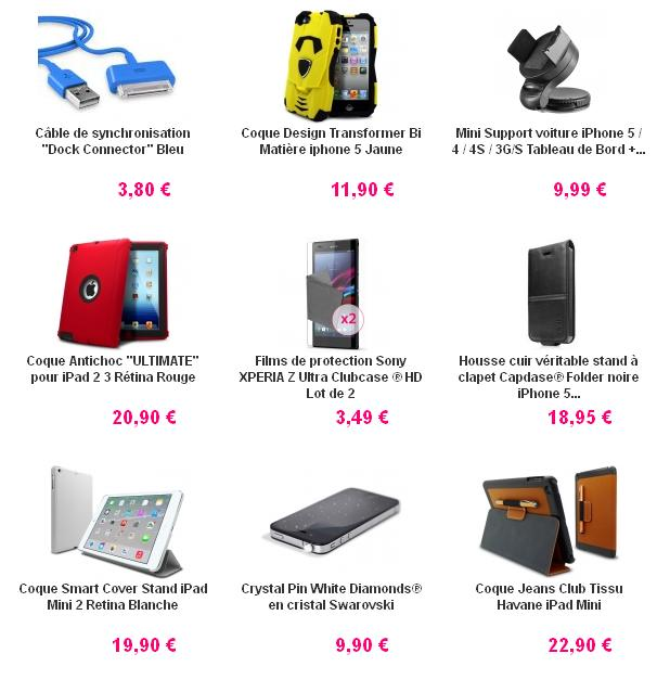 Téléphonie mobile accessoire