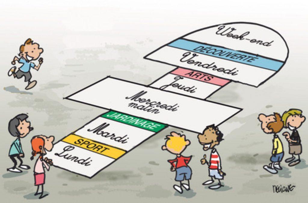 rythmes scolaires France