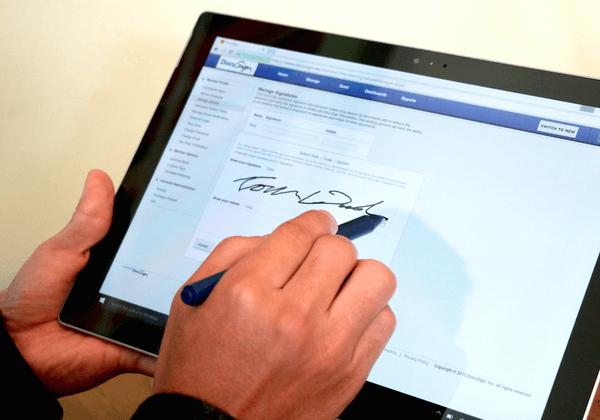 Gpdr ce qui va changer pour la signature lectronique - Telecharger open office pour tablette ...