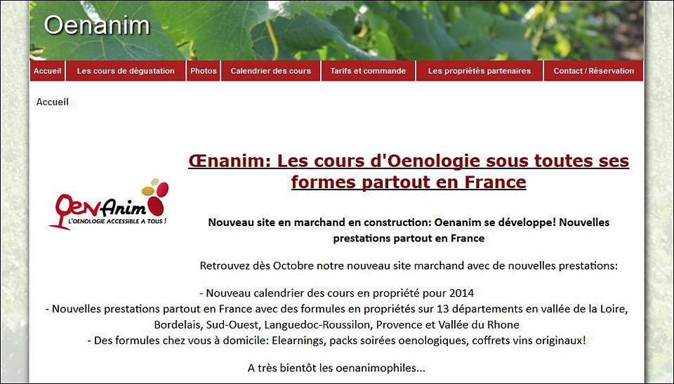 Formations oenologie Oenanim