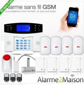 Alarme sans fil GSM